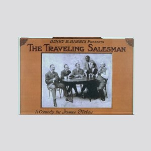 Traveling salesman - US Lithograph - 1908 Magnets