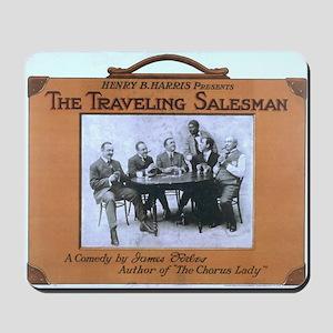 Traveling salesman - US Lithograph - 1908 Mousepad