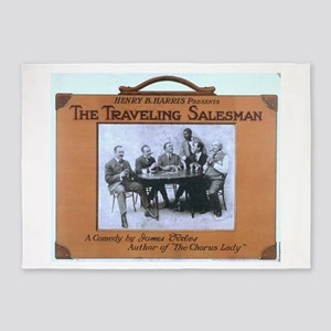 Traveling salesman - US Lithograph - 1908 5'x7'Are