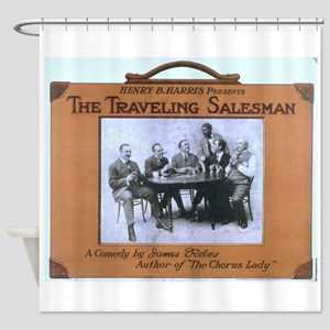 Traveling salesman - US Lithograph - 1908 Shower C