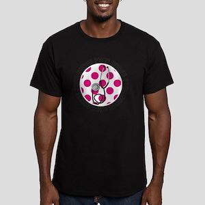 PICU Nurse round penda Men's Fitted T-Shirt (dark)