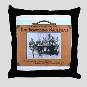 Traveling salesman - US Lithograph - 1908 Throw Pi