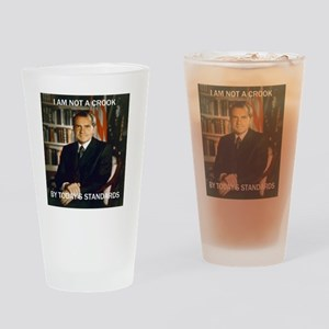 i am not a crook Drinking Glass