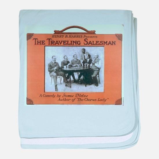 Traveling salesman - US Lithograph - 1908 baby bla