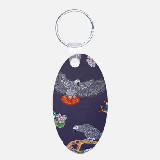 Tropical African Paradise Keychains