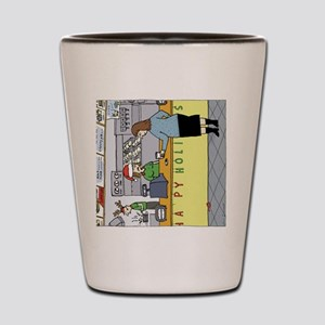 coffeeholidayhorz Shot Glass