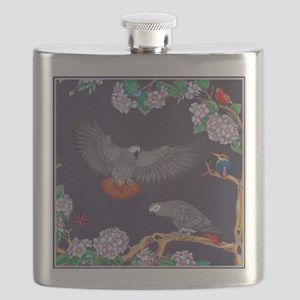 Tropical African Paradise Flask