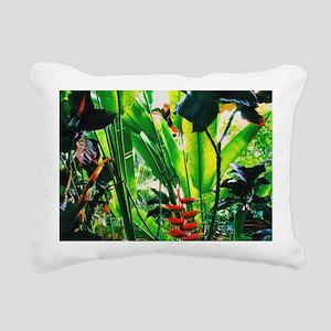 Tropical 2 Rectangular Canvas Pillow