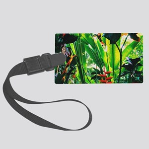 Tropical 2 Large Luggage Tag