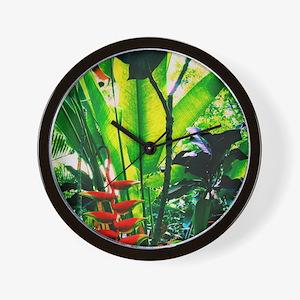 Tropical 2 Wall Clock