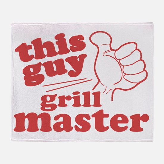 Grill Master Throw Blanket
