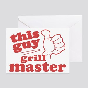 Grill Master Greeting Card