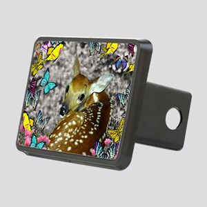 Bambina the Fawn in Butter Rectangular Hitch Cover