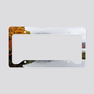 Fall Reflections  License Plate Holder