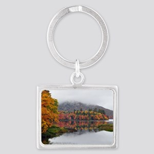 Fall Reflections  Landscape Keychain