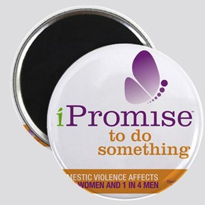 iPromise to do something with butterfly log Magnet
