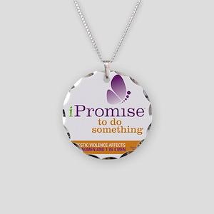 iPromise to do something wit Necklace Circle Charm