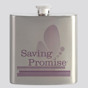 Saving Promise with large butterfly logo in  Flask