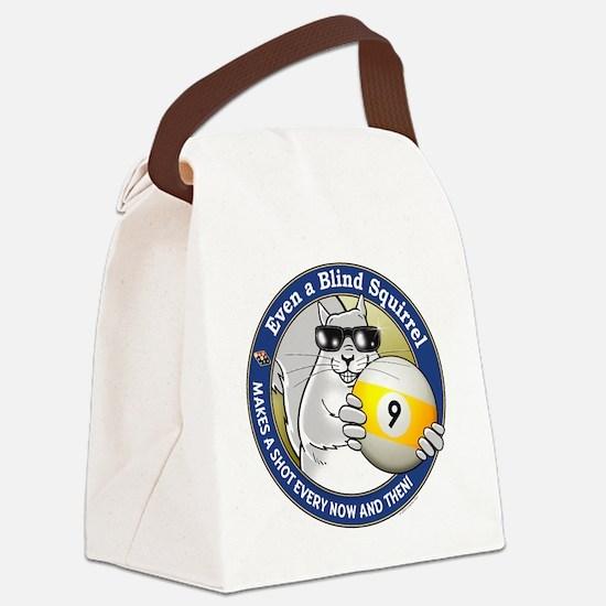 9-Ball Blind Squirrel Canvas Lunch Bag