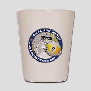 9-Ball Blind Squirrel Shot Glass