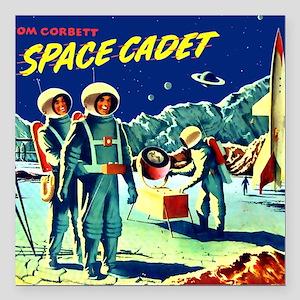 "Tom Corbett Mug Square Car Magnet 3"" x 3"""