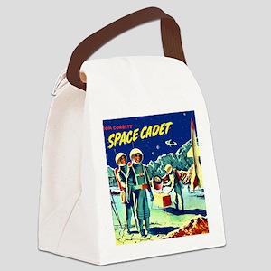 Tom Corbett Mug Canvas Lunch Bag