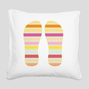 Patio Square Canvas Pillow