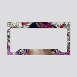 Chi Chi the Chihuahua in Flow License Plate Holder