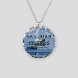 sanjuanislandssq2 Necklace Circle Charm