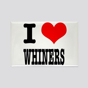 I Heart (Love) Whiners Rectangle Magnet