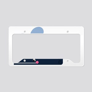 Whale License Plate Holder