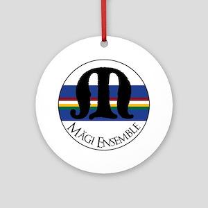 Magi Ensemble Sing Baltically Round Ornament