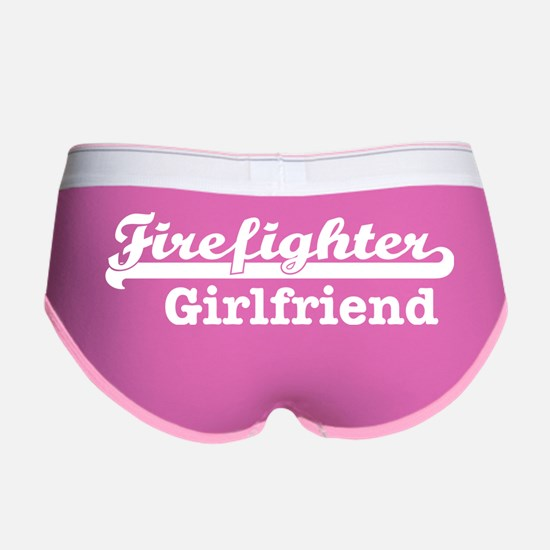 Firefighter Girlfriend Women's Boy Brief