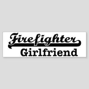 Firefighter Girlfriend Sticker (Bumper)
