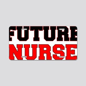 Future Nurse Aluminum License Plate