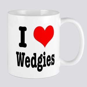 I Heart (Love) Wedgies Mug