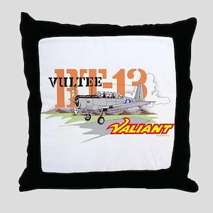 BT-13 VULTEE Throw Pillow