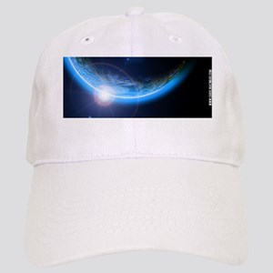 Outer Space Solar Eclipse Cap