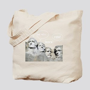 Rushmore Rock You Tote Bag