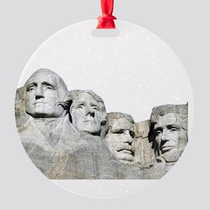 Rushmore Rock You Round Ornament