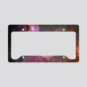 Orion Outerspace Nebula License Plate Holder