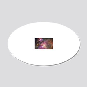 Orion Outerspace Nebula 20x12 Oval Wall Decal
