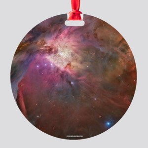 Orion Outerspace Nebula Round Ornament