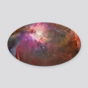 Orion Outerspace Nebula Oval Car Magnet