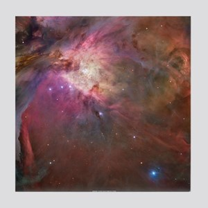 Orion Outerspace Nebula Tile Coaster