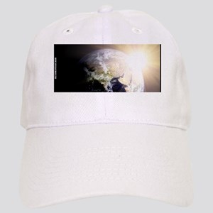 Outerspace Earth Sunset Cap