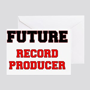 Future Record Producer Greeting Card