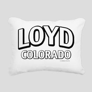 Loyd Colorado Rectangular Canvas Pillow