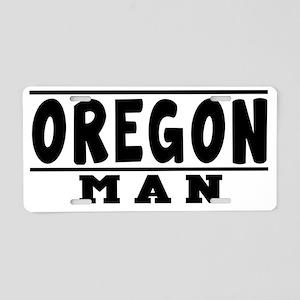 Oregon Man Designs Aluminum License Plate