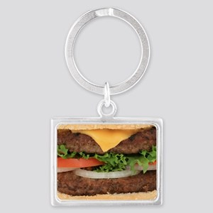 Hamburger Landscape Keychain